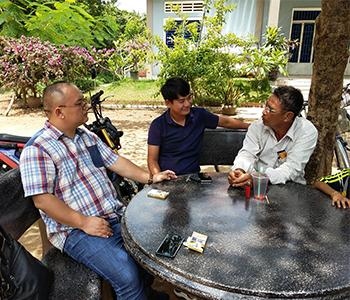 Cambodian customers
