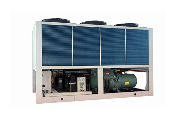 Air-cooled hot and cold water unit-triple supply