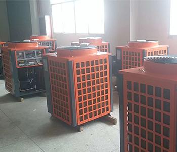 工厂m6米乐app能热泵库存一角
